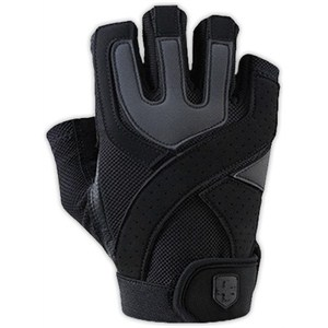 harbinger mens training grip fitness eldiven - l