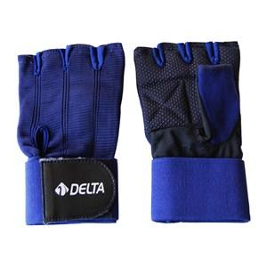 delta x-mega ağırlık & body eldiveni - m - mavi - siyah