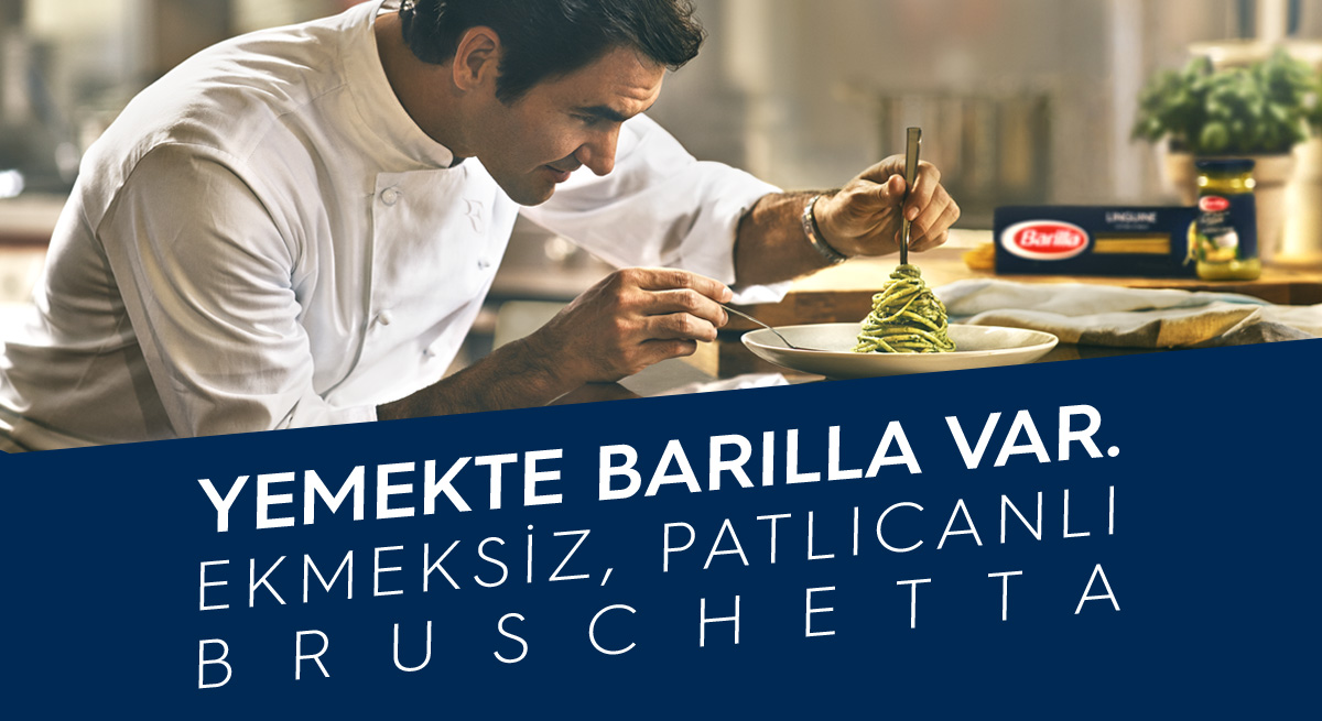 Ekmeksiz Patlıcanlı Bruschetta Tarifi