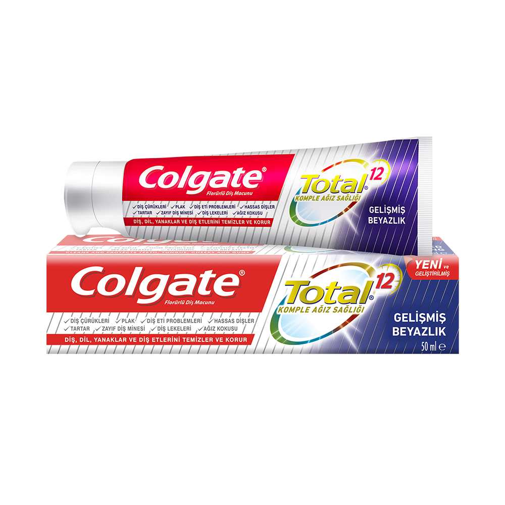Colgate Total Gelişmiş Beyazlık Diş Macunu