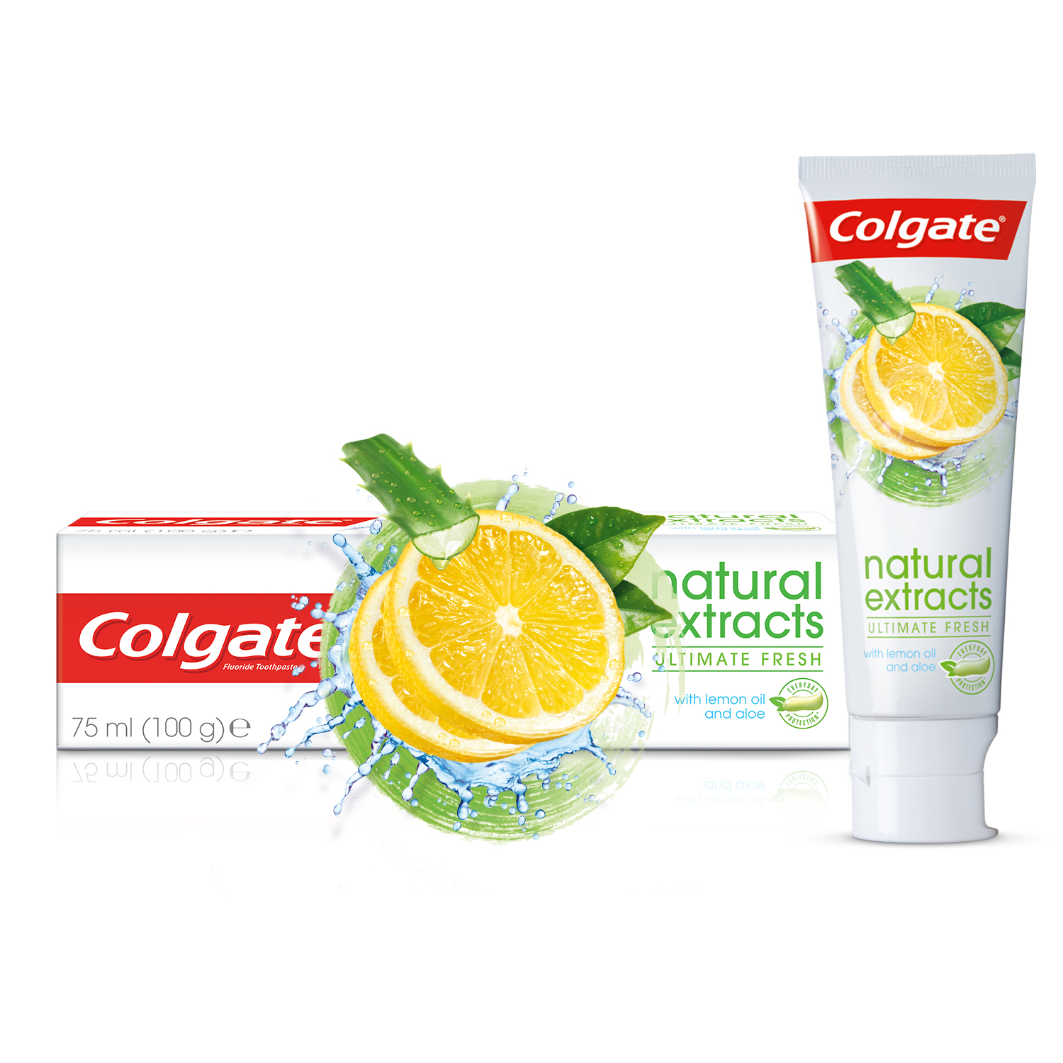 Colgate® Natural Extracts® Limon Yağı Diş Macunu