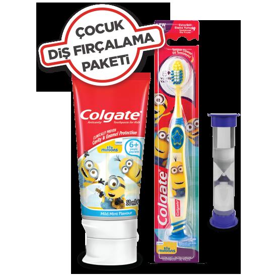 Colgate Çocuk Diş Fırçalama Paketi