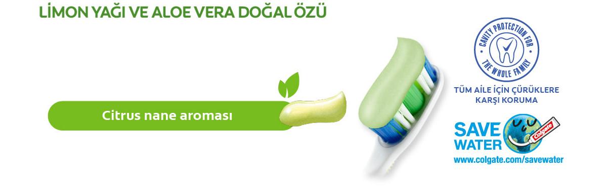 Limon yağı ve aloe vera doğal özü