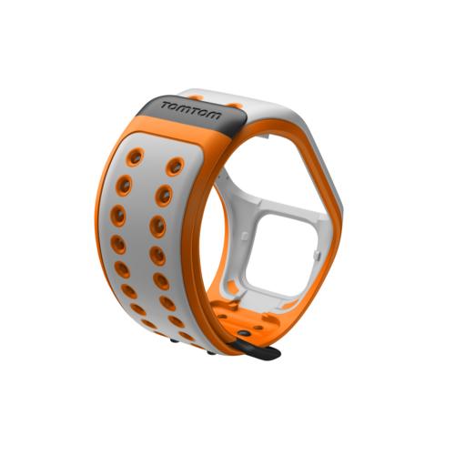 Tomtom Watch Strap L Grey – Orange (L)