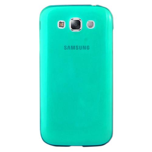 CoverZone Samsung Galaxy E7 Kılıf 0.3mm İnce Silikon Yeşil