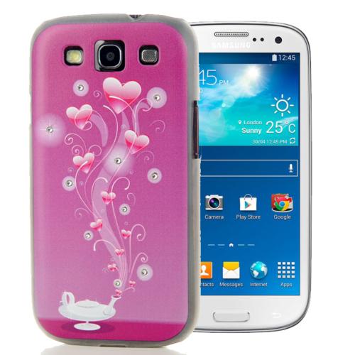 CoverZone Samsung Galaxy S3 Kılıf Resimli Arka Kapak No: 40