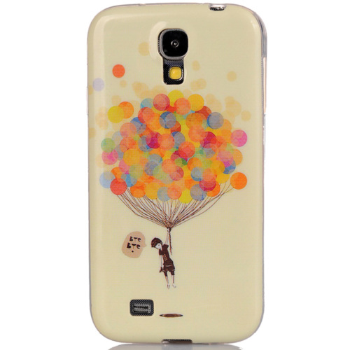 CoverZone Samsung Galaxy S4 Kılıf Silikon Resimli No: 2