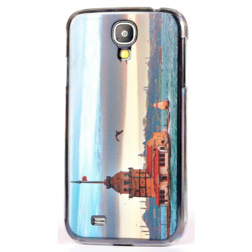 CoverZone Samsung Galaxy S4 Kılıf Rubber Sert Kapak Resimli No: 2