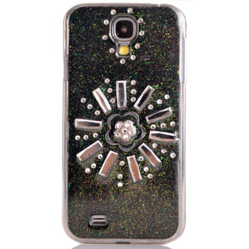 CoverZone Samsung Galaxy S4 Kılıf Taşlı Sert Kapak No: 3