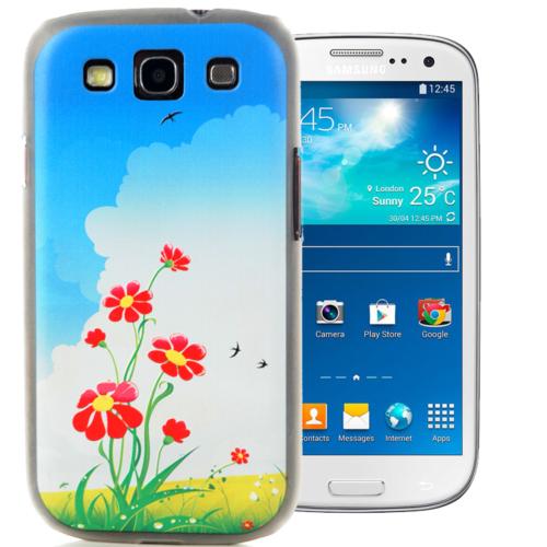 CoverZone Samsung Galaxy S3 Kılıf Resimli Arka Kapak No: 23