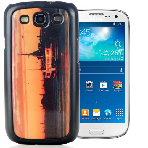 CoverZone Samsung Galaxy S3 Kılıf Resimli Arka Kapak No: 17
