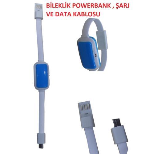 Magic Micro Bileklik Powerbank Şarj Ve Veri Aktarım Kablosu