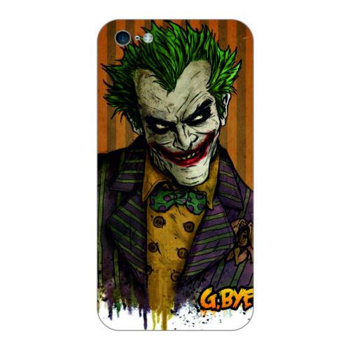 Bordo İphone 6S Kapak Kılıf Renkli Joker Baskılı Silikon