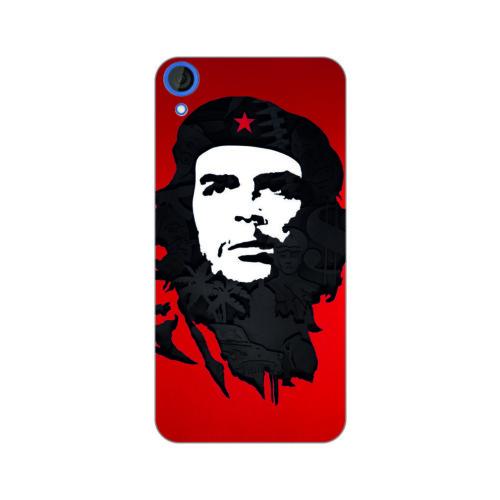 Bordo Htc Desire 626 Kapak Kılıf Che Guevara Baskılı Silikon