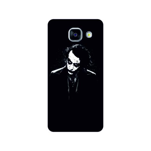Bordo Samsung Galaxy A5 2016 Kapak Joker Kılıf Baskılı Silikon