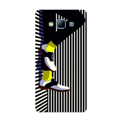 Bordo Samsung Galaxy A8 Kapak Kılıf Baskılı Silikon