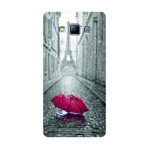 Bordo Samsung Galaxy Grand Max Kapak Kılıf Paris Baskılı Silikon