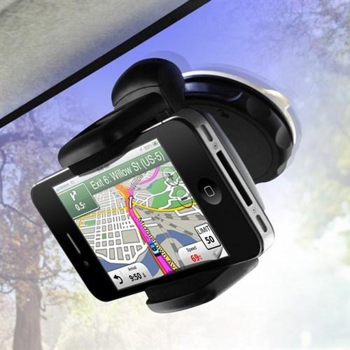 BuldumBuldum Windshield Mount Phone Holder - 360 Derece Telefon Tutucu