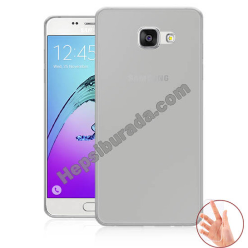 Teknomeg Samsung Galaxy A5 2016 Şeffaf Silikon Kılıf