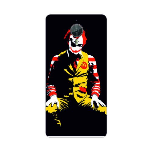 Bordo General Mobile Discovery Gm5 Plus Kapak Kılıf Joker Baskılı Silikon