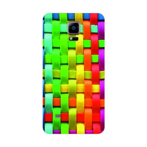 Bordo Samsung Galaxy Note 4 Edge Kapak Kılıf Baskılı Silikon
