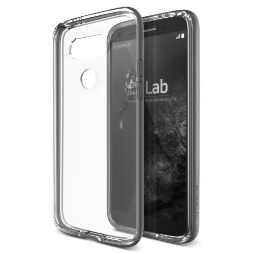 Verus LG G5 Crystal Bumper Kılıf Steel Silver