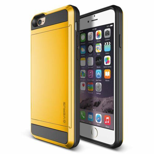 Verus iPhone 6/6S 4.7 Damda Slide Kılıf Special Yellow