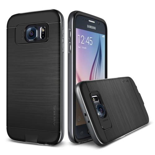 Verus Galaxy S6 Case Iron Shield Kılıf Titanium