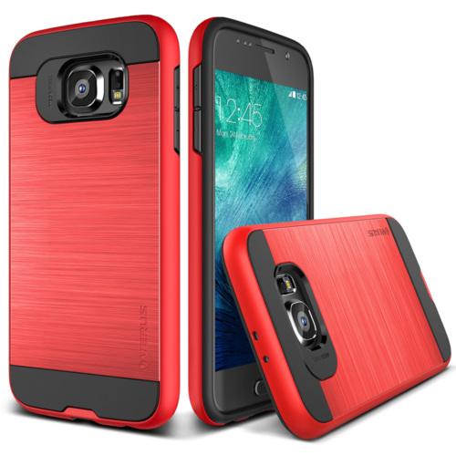 Verus Samsung Galaxy S6 Case Verge Kılıf Crimson Red
