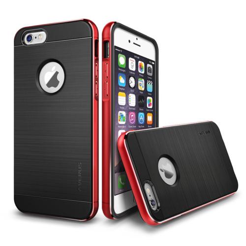 Verus Apple iPhone 6/6S 4.7 New Iron Shield Kılıf Kiss Red