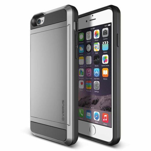 Verus iPhone 6/6S 4.7 Damda Slide Kılıf Light Silver
