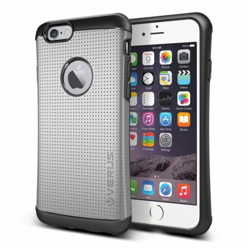 Verus iPhone 6/6S 4.7 Thor Kılıf HARD DROP Light Silver