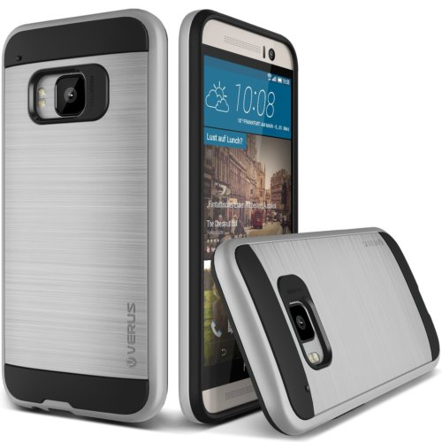 Verus HTC One M9 Case Verge Series Kılıf Silver