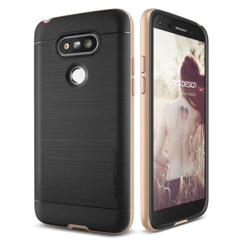 Verus LG G5 High Pro Shield Kılıf Shine Gold