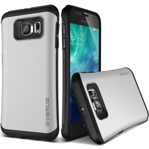 Verus Galaxy S6 Case Thor Kılıf HARD DROP Light Silver