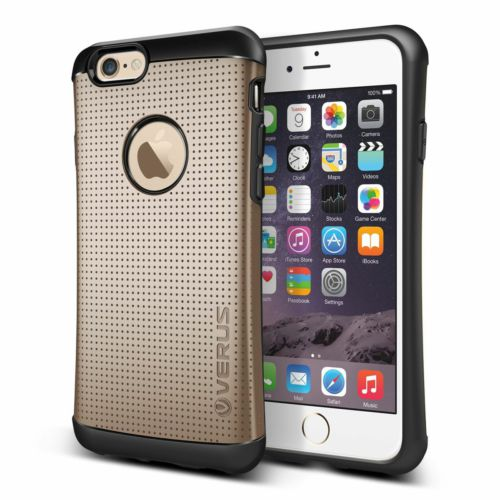 Verus iPhone 6/6S 4.7 Thor Kılıf HARD DROP Shine Gold