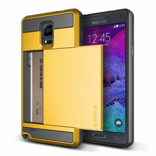 Verus Samsung Galaxy Note 4 Damda Slide Kılıf Special Yellow