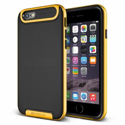 Verus iPhone 6 4.7 Case Crucial Bumper Kılıf Special Yellow
