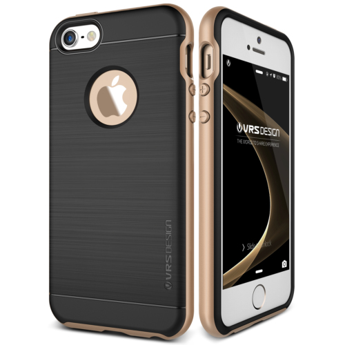Verus iPhone SE High Pro Shield Series Kılıf Shine Gold