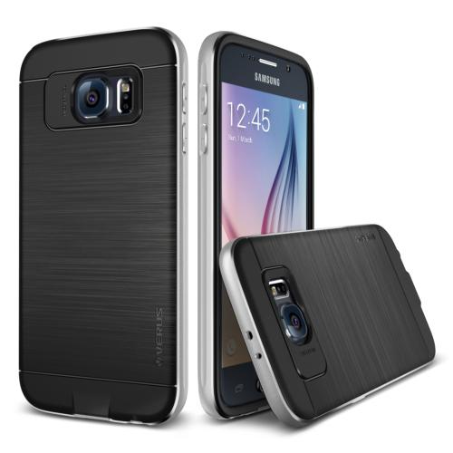 Verus Galaxy S6 Case Iron Shield Kılıf Silver