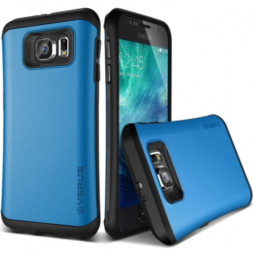 Verus Galaxy S6 Case Thor Kılıf HARD DROP Electric Blue