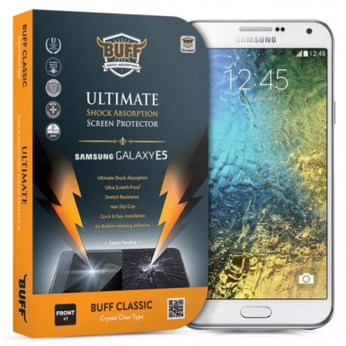 Buff Samsung Galaxy E5 Darbe Emici Ekran Koruma Filmi