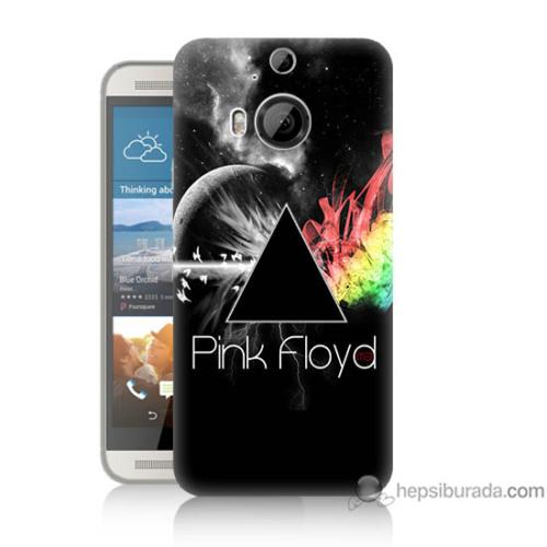Bordo Htc One M9 Plus Kapak Kılıf Pink Floyd Baskılı Silikon