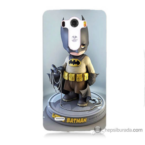 Bordo Lg G3 Kapak Kılıf Batman Baskılı Silikon