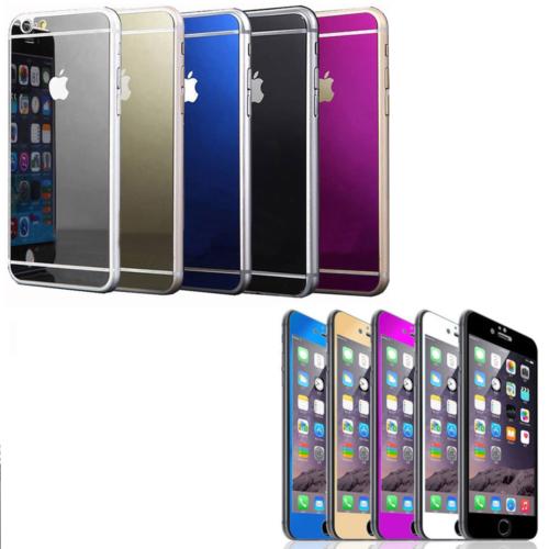 Iphone 6 Plus/S Gold Ön ve Arka Aynalı Cam 5.5 Ekran cin22