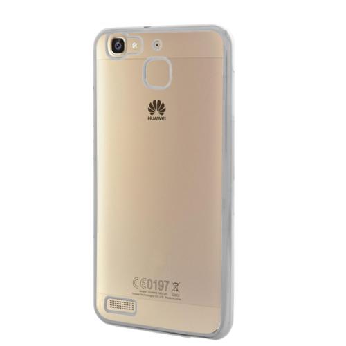 Microsonic Huawei GR3 Kılıf Flexi Delux Gümüş