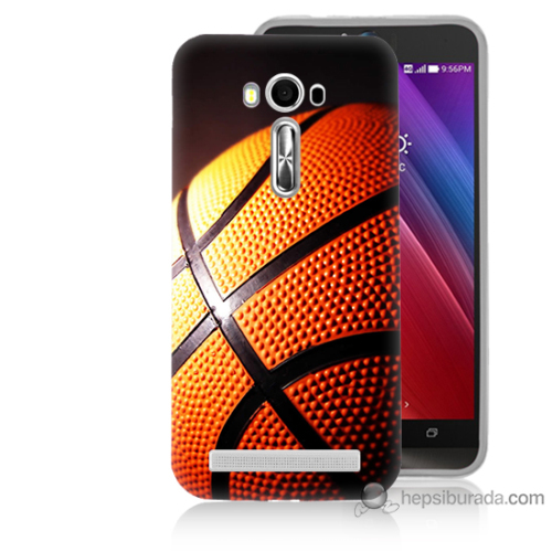 Teknomeg Asus Zenfone Laser 5.0 Kapak Kılıf Basketbol Baskılı Silikon