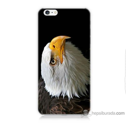 Teknomeg iPhone 6s Plus Kapak Kılıf Eagle Baskılı Silikon