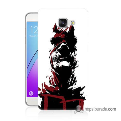 Teknomeg Samsung Galaxy A5 2016 Kapak Kılıf Superhero Baskılı Silikon