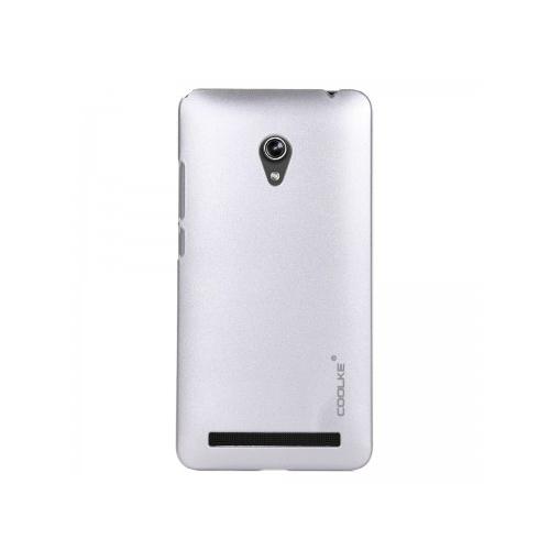 Coolke Asus Zenfone 5 Rubber Arka Kapak -Silver